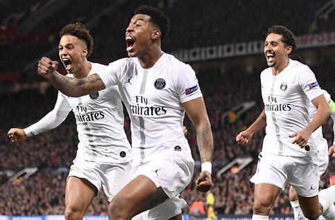 UEFA Champions League: de doelpunten van de eerste achtste finales