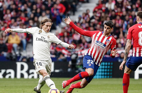Hoogspanning in Madrid met de derby Atlético - Real