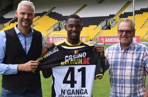 Lokeren signe N'Ganga (ex-Charleroi)