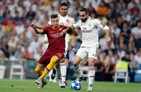 Ligue des champions : AS Rome - Real Madrid, duel au sommet