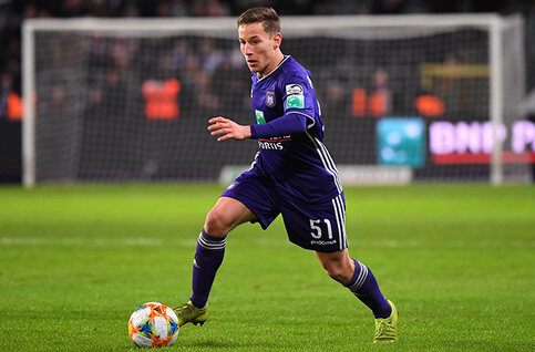 Yari Verschaeren est le joueur du mois de mars d'Anderlecht !