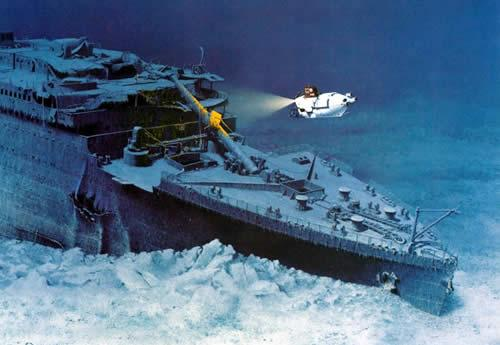 Ocean atlantique titanic