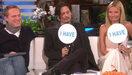 Gwyneth Paltrow, Johnny Depp et Paul Bettany