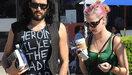Katy Perry en Russell Brand