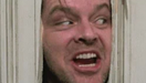 """""""Here's Johnny"""" in The Shining"""