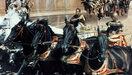 De wagenrace in Ben Hur
