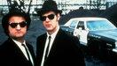 De neerstortende auto in The Blues Brothers