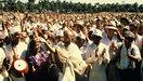 De begrafenis in Gandhi