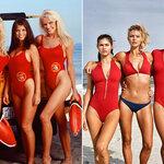 Baywatch-babes door de jaren heen