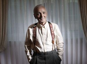 Charles Aznavour à jamais en haut de l'affiche
