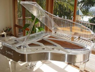 'Crystal Piano' by Heintzman