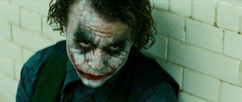 Le Joker dans 'The Dark Knight'