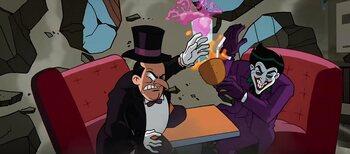 Un crossover avec le Joker