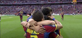 Barcelona - Manchester United (3-1)