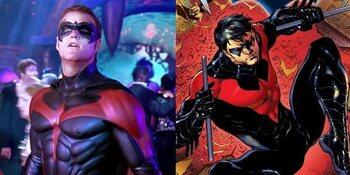 Robin fait référence à Nightwing