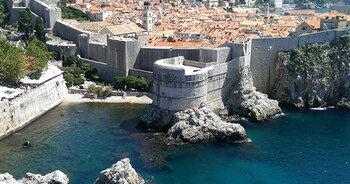 Het historische centrum van Dubrovnik