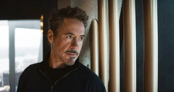 La boisson verte de Tony Stark