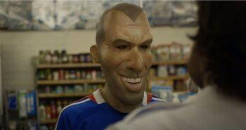 Australiërs eren Zidane met een lied