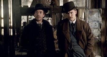 Vrijdag: Sherlock Holmes