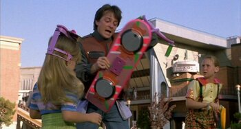 Hoverboard, Back to the Future Part II