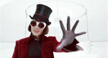 Willy Wonka in Charlie and the Chocolate Factory (2005)