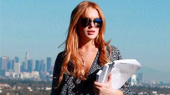 'Naaktfoto's op gestolen computer Lindsay Lohan'