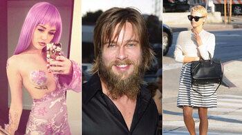 Arnold Schwarzenegger raconte son fils à cesser de dater Miley Cyrus relations de rencontre de dépression