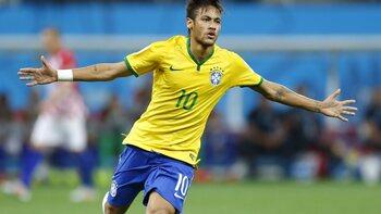 De sterren van de selectie: Neymar