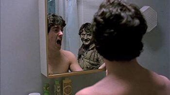 Kijk niet in de spiegel!