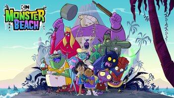 'Monster Beach' prêt à vous faire frissonner de plaisir sur Cartoon Network