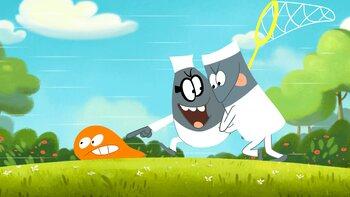 Bekijk het tweede seizoen van oranje klodder 'Lamput' op Boomerang!