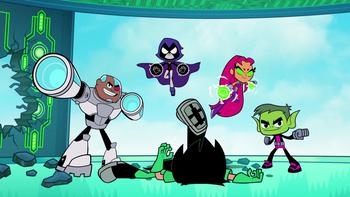 Maak kennis met de nieuwste tienersuperhelden: 'Teen Titans Go!'
