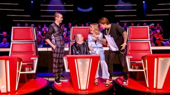 Knokken voor een finaleplaats in 'The Voice Senior'