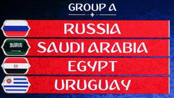 Wereldbeker 2018, groep A: Thuisland Rusland ontvangt De Groene Valken, De Farao's en La Celeste