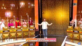 Cyril Hanouna a donné un second souffle au jeu 'À Prendre ou à Laisser'