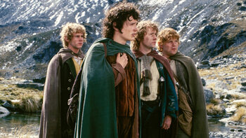 Zondag: Lord of the Rings: The fellowship of the Ring