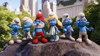 'The Smurfs'