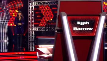 The Voice Belgique, Blind Auditions 4 : Typh Barrow continue sur sa lancée