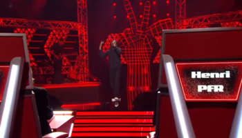 The Voice Belgique, Blind Auditions 2 : Inarrêtable Henri PFR