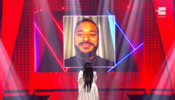 The Voice Belgique, Live 3: Slimane sous le charme de Sonita