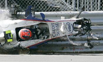 Twee zware crashes kunnen F1-droom Robert Kubica niet fnuiken