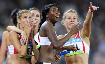 Acht jaar na de feiten: goud voor Belgische 4x100m-vrouwen