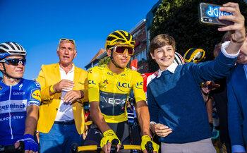 28 juli - Egan Bernal, de jongste winnaar van de Tour in een eeuw