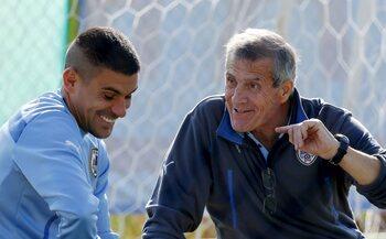 L'entraîneur : Oscar Tabarez
