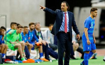 L'entraîneur : Juan Antonio Pizzi