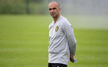 L'entraîneur : Roberto Martinez
