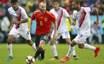 Les stars de la sélection : Andres Iniesta : l'adieu à l'Europe