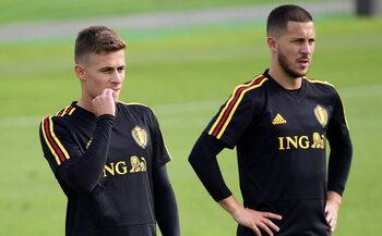 Thorgan en Eden Hazard, duivelse broertjes