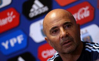 L'entraîneur : Jorge Sampaoli