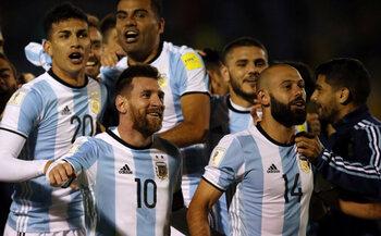 Argentinië met moeite, ondanks Leo Messi